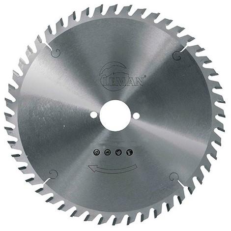 Lame carbure pour portative D. 180 x Al. 16 mm. x 48 dents alt. pour bois - 964.180.1648 - Leman - -