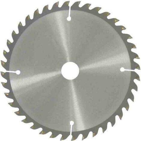 Lame carbure pour scie circulaire universelle à denture alternée , multimatériaux , Ø 190 , 20x16 - 18 dents