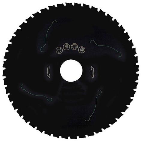 Lame circ. céra-métal D. 216 x Al. 30 mm. x 48 dents. Pour Métaux - 123.216.3048 - Leman