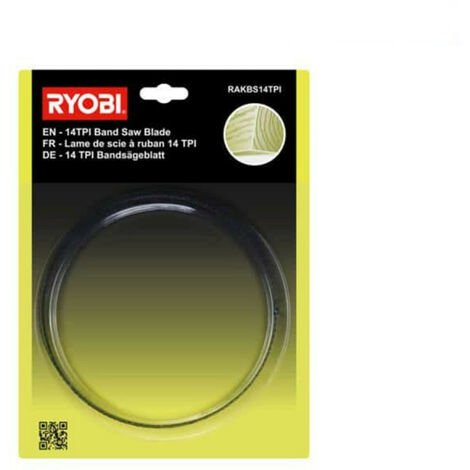 Lame coupe fin RYOBI pour scie à ruban RBS904 RAKBS14TPI