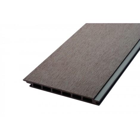 """main image of """"Lame de bardage bois composite alvéolaire L 270 cm / l 17,1 cm / E 1, 5 cm"""""""
