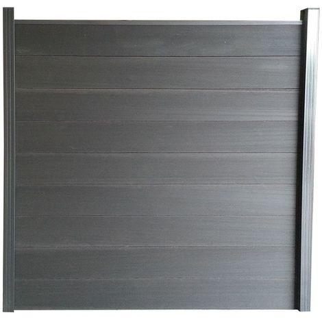 Lame de barrière composite L 180cm ht 21 cm ep 2,1cm