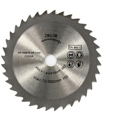 Lame De Coupe, Diametre Exterieur 85 Mm, 1Pc