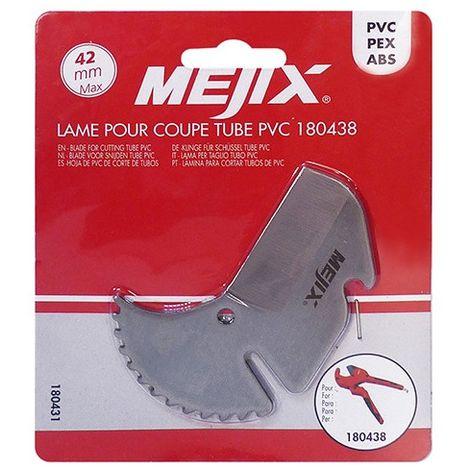 Lame de rechange pour coupe tubes PVC - 180431 - Mejix
