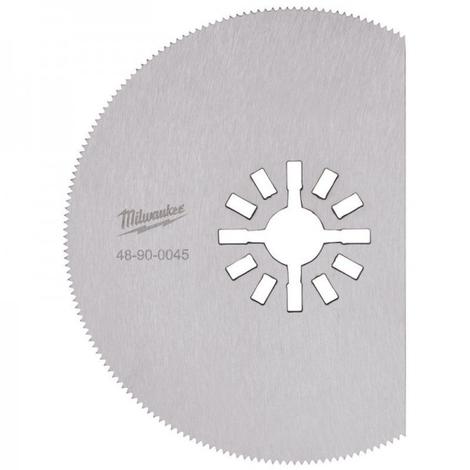Lame de scie 80 mm segment ondulé MILWAUKEE - 48900045