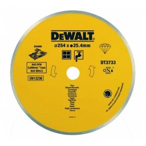 Lame de scie à carrelage - céramique DEWALT - DT3733