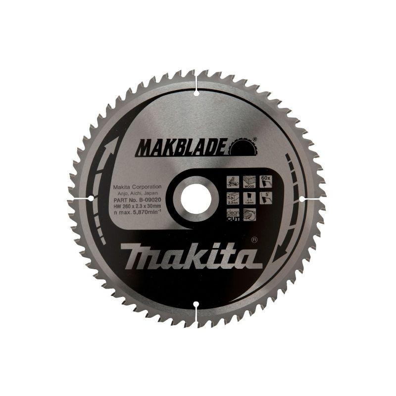 Makita makblade b-32839 scie lame de scie 216 x 30mm 60 DENTS BOIS