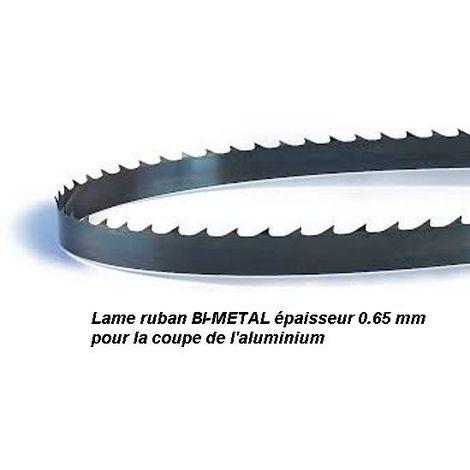 Lame de scie à ruban 1400 mm largeur 13 Bi-métal pour aluminium (Scheppach HBS20, Kity SAR200, Parkside PBS350A1, Fartools)