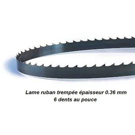 Lame de scie à ruban 2550 mm largeur 6 épaisseur 0.36 mm