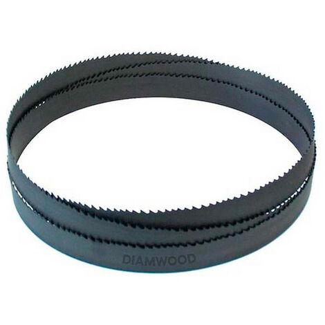 Lame de scie à ruban métal PAE 1400 x 13 x 0,65 mm x 18 TPI N pas normal - Bi-métal M42 - Diamwood