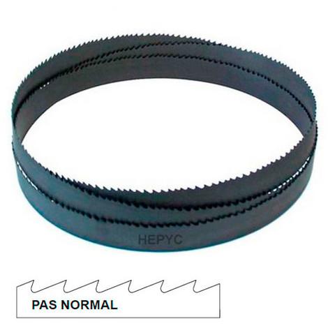 Lame de scie à ruban métal PAE 2550 x 27 x 0,9 mm x 14 TPI pas normal - Bi-métal M42 - 72080802550 - Hepyc - -