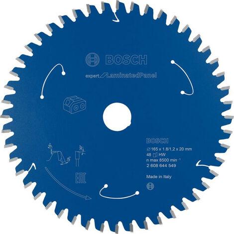 Lame de scie circulaire 165x1.8/1.2x20 Z48 Bosch