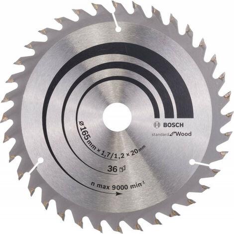 Lame de scie circulaire 165x20 mm 36Z WZ BoschOptiline