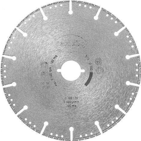 Lame de scie circulaire Ø200 x 1.8 x 29 mm LAMELLO - Diamant - Prof. 70 mm - Pour fenêtre PVC à renfort acier - 132532