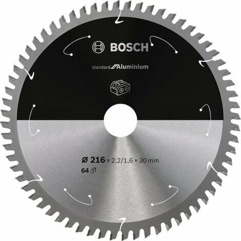 Lame de scie circulaire 216x2.2/1.6x30 Z64 BoschExpert for Alu