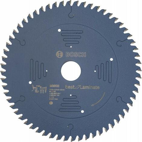 Lame de scie circulaire 216x30 mm 60 Z TR-F BoschBest of Laminat