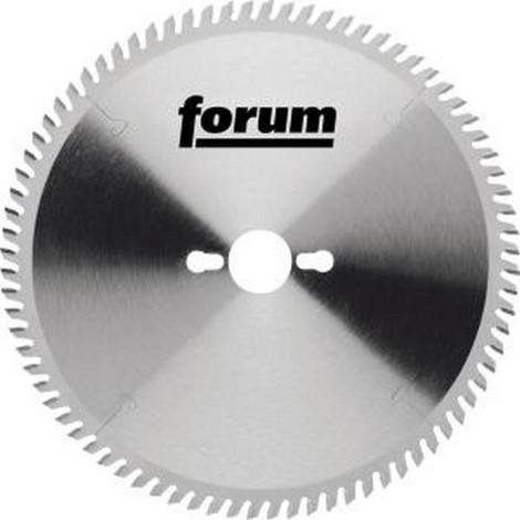 Lame de scie circulaire, Ø : 250 mm, Larg. : 3,1 mm, Alésage 30 mm, Perçages secondaires : 2KNL*, Dents : 80