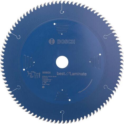 Lame de scie circulaire 305x30 mm 96 Z TR-F BoschBest of Laminat