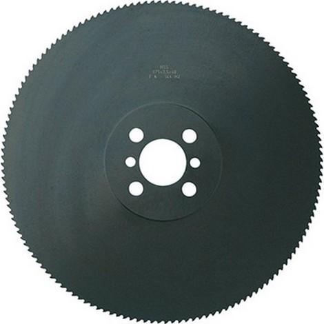 Lame de scie circulaire à métaux, en acier à coupe rapideE à 5% de cobalt, Dimensions : 400 x 3,5 x 50 mm
