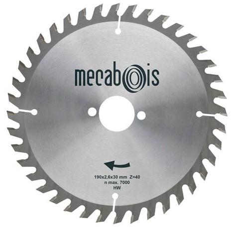 Lame de scie circulaire au carbure - Différentes dimensions disponibles