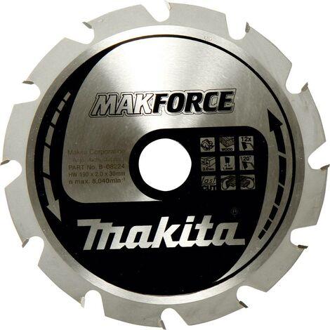 Lame de scie circulaire au carbure Makita MAKFORCE B-32340 190 x 30 x 1.4 mm Nombre de dents: 40 1 pc(s)