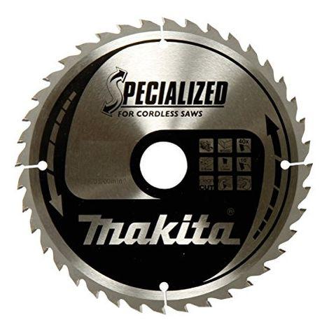 Lame de scie circulaire au carbure Makita SPECIALIZED B-32904 165 x 20 x 1 mm Nombre de dents: 24 1 pc(s)