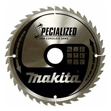 Lame de scie circulaire au carbure Makita SPECIALIZED B-32954 165 x 20 x 1 mm Nombre de dents: 40 1 pc(s)