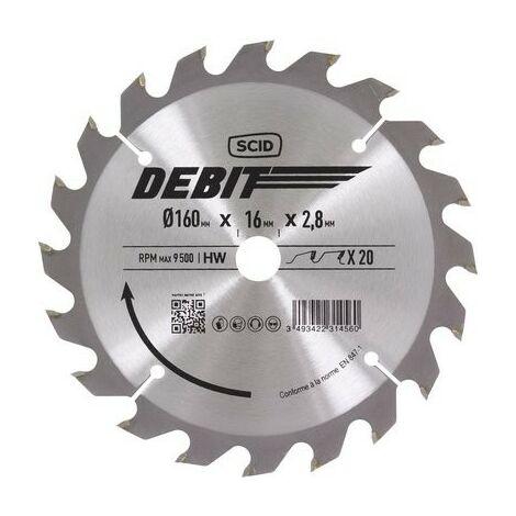 Lame de scie circulaire au carbure SCID- plusieurs modèles disponibles