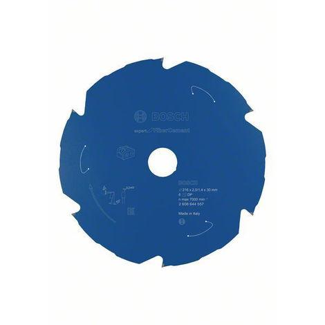 Lame de scie circulaire BOSCH Expert for Fibre Cement pour scies sans fil 216 x 2/1,4 x 30 T6 - 2608644557