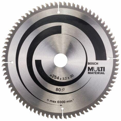 Lame de scie circulaire BOSCH MultiMaterial - Ø305 mm - 80 dents - 2608640452