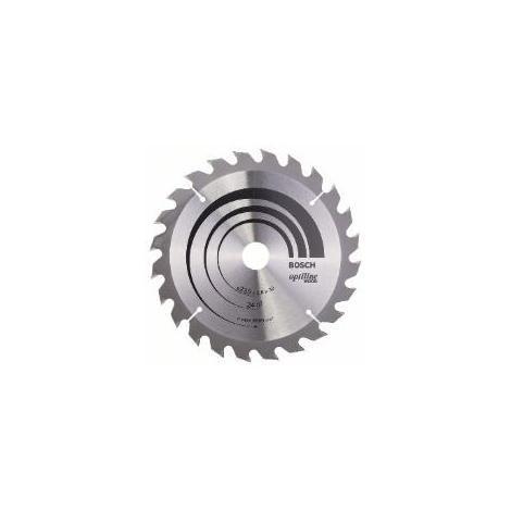 Lame de scie circulaire BOSCH Optiline WoodØ 30mm - 235X30/25X2.8 - 2 608 640 725