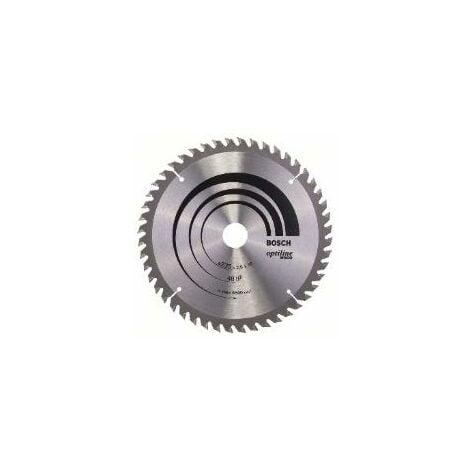 Lame de scie circulaire BOSCH Optiline Wood Ø 30mm - 235X30/25X2.8 - 48D ALT - 2 608 640 727