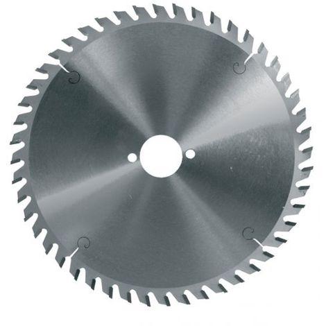 Lame de scie circulaire carbure 165 mm alésage 20 - 48 dents pour l'aluminium