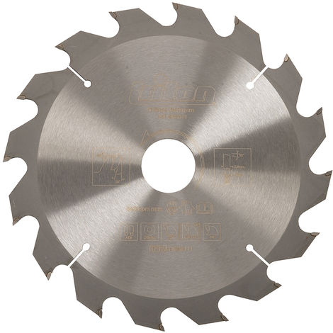 Lame de scie circulaire Choix du modèle 184 x 30 mm. 16 dents