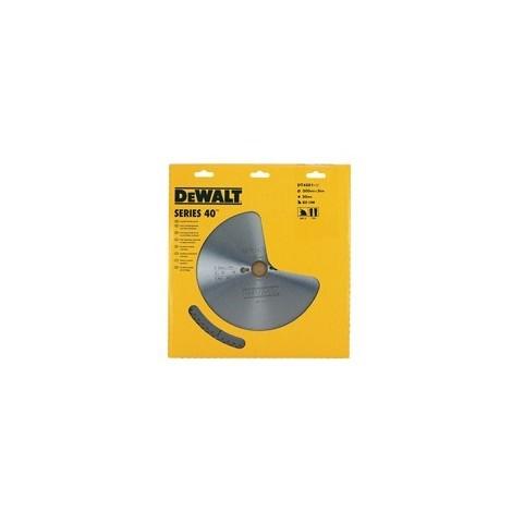 Lame de scie circulaire DEWALT Serie 40 - Ø305mm alésage 30mm - 96 Dents - DT4290
