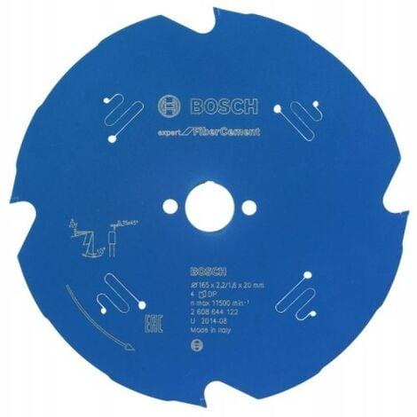 Lame de scie circulaire diamant Expert diamètre 165 mm, alésage 20 mm, épaisseur 2,2 mm