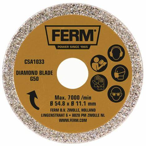 Lame de scie circulaire diamantée Ferm G50 CSA1033 54.8 x 11.1 mm 1 pc(s)