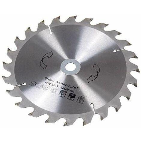 Lame de scie circulaire Ferm MSA1024 210 x 30 x 2.5 mm Nombre de dents: 24 1 pc(s) W851561