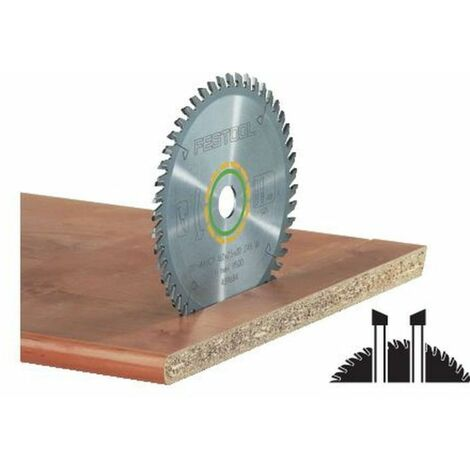 Lame de scie circulaire Festool 210 x 2,4 x 30 W52 - 52 dents - Coupes fines de stratifiés
