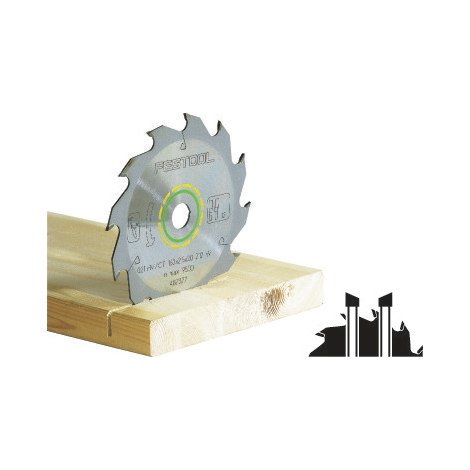 Lame de scie circulaire FESTOOL - bois - Ø160 mm - 18 dents - 768129