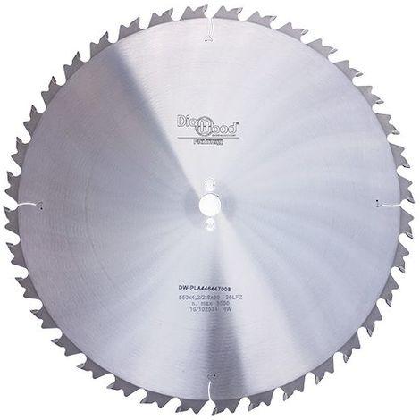 Lame de scie circulaire HM débit D. 550 x Al. 30 x ép. 4,2 mm x Z36 + AR - Diamwood Platinum - -