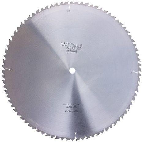 Lame de scie circulaire HM débit D. 700 x Al. 30 x ép. 4,2 mm x Z42 + AR - Diamwood Platinum - -