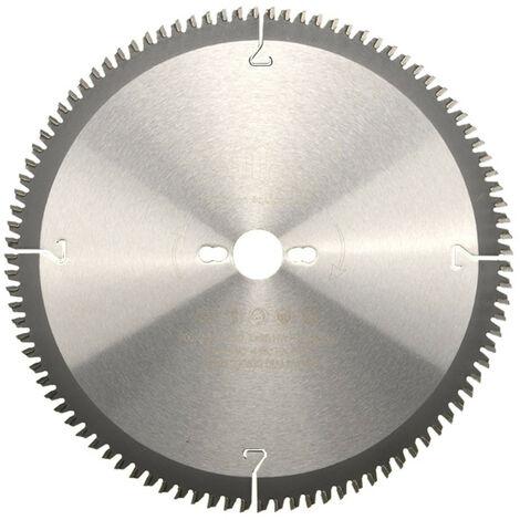 Lame de scie circulaire HM finition D. 300 x Al. 30 x ép. 3,2/2,5 mm x Z96 TP Neg pour Alu/bois - Diamwood