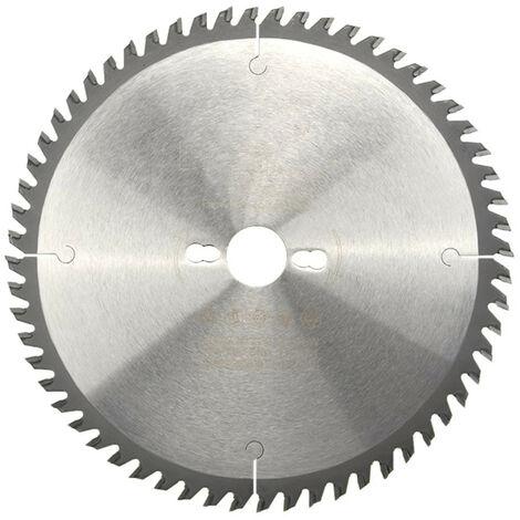 Lame de scie circulaire HM universelle D. 250 x Al. 30 x ép. 3,2/2,2 mm x Z60 Alt pour bois - Diamwood