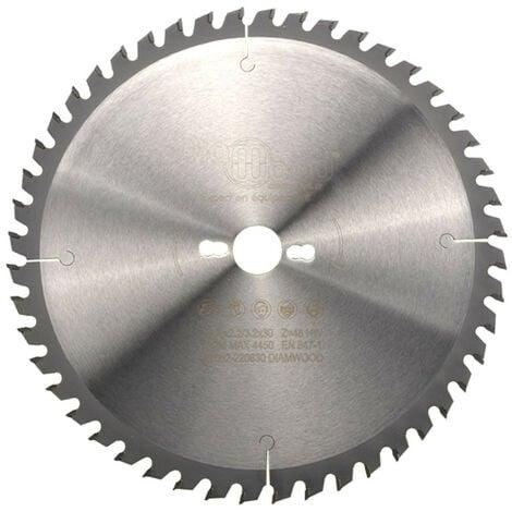 Lame de scie circulaire HM universelle D. 300 x Al. 30 x ép. 3,2/2,2 mm x Z48 Alt pour bois - Diamwood