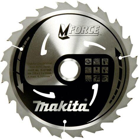 Lame de scie circulaire Makita M-FORCE B-32041 190 x 30 x 1.2 mm Nombre de dents: 24 1 pc(s)