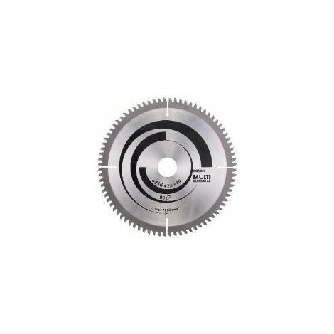 "main image of ""Lame de scie circulaire Multi Material Ø 30mm - 305 x 30 x 3,2 mm, 80 - 2 608 640 452"""