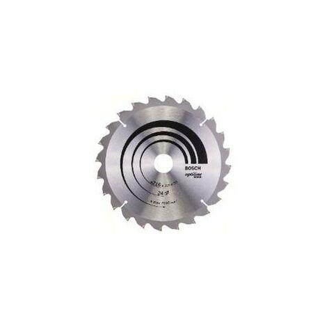Lame de scie circulaire Optiline Wood Ø 30mm - 216 x 30 x 2,0 mm, 24 - 2 608 640 431