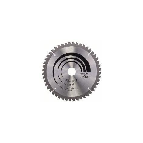 Lame de scie circulaire Optiline Wood Ø 30mm - 216 x 30 x 2,0 mm, 48 - 2 608 640 432