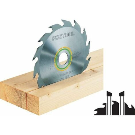 Lame de scie circulaire Panther FESTOOL - bois - Ø230 mm - 18 dents - 500646